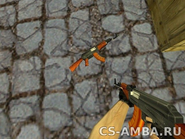 AK-47 with bakelite magazine