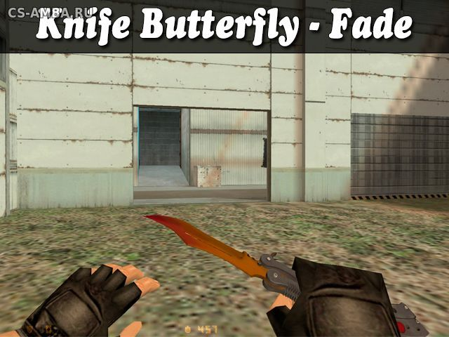 Knife Butterfly-Fade