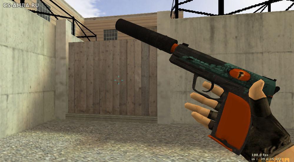 Модель usp caiman hd для cs 1 6 Новые модели Оружия для cs 1 6