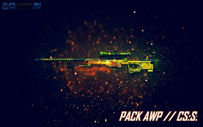 Крутой pack 4 AWP (порт из cs:go) для CS:S