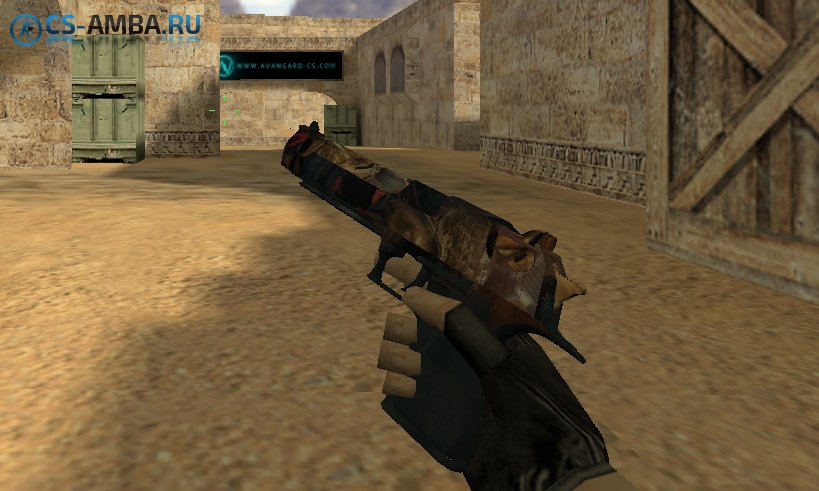 HD deagle abstract pattern для CS1.6