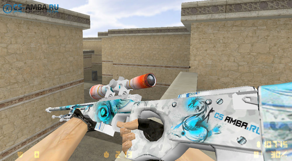 AWP | Dragon Eye [CS-A] для Cs 1.6