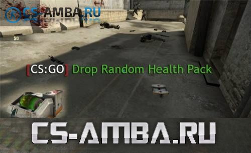 Drop Random Health Pack v 2.8