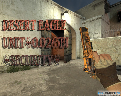Desert Eagle UNIT/0.0265bi (security) [Gloves]