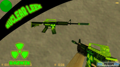 M4A1 | Nuclear Leek [version 0.2] by RAZNiK