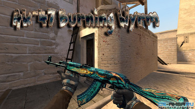 AK-47 Burning Wyrm